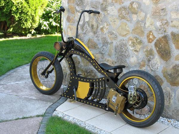 e bike chopper design fahrrad in hamburg kaufen und verkaufen ber private kleinanzeigen. Black Bedroom Furniture Sets. Home Design Ideas