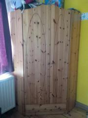 Eck-Kleiderschrank Kinderzimmer