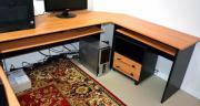 Ein Schreibtisch Winkelkombination