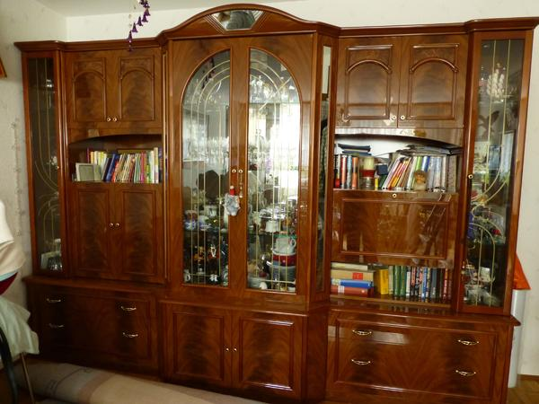 eine wundersch ne italienische wohnwand hochglanz in villingen schwenningen wohnzimmerschr nke. Black Bedroom Furniture Sets. Home Design Ideas
