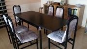 Esszimmertisch + 6 Stühle
