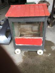 Fahrbarer Kleintierstall Stall