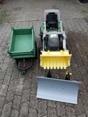 Fendt Traktor + Anhänger+
