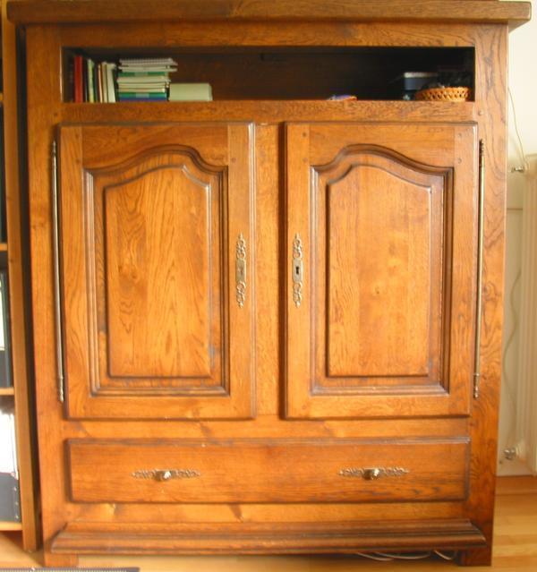 Fernsehschrank, Landhausmöbel, Eiche » Sonstige Wohnzimmereinrichtung