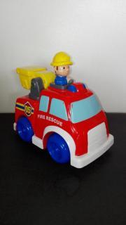 Feuerwehrauto, Spielzeug, Feuerwehr,