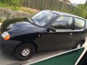 Fiat Seicento Studentenfahrzeug