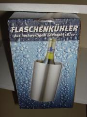 Flaschenkühler aus Edelstahl -