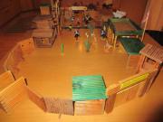 Fort aus Holz