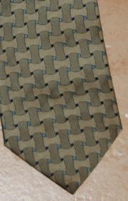 Foulard Krawatte, Bronze,