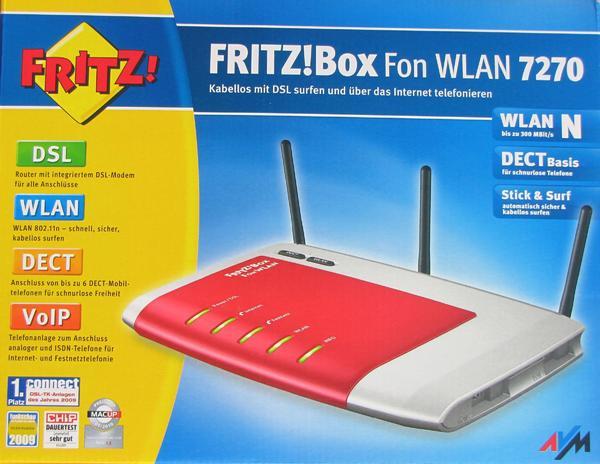 fritzbox 7270 gebraucht kaufen nur 4 st bis 75 g nstiger. Black Bedroom Furniture Sets. Home Design Ideas