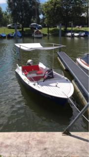 Führerschein freies Elektroboot
