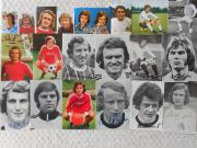 Fussball-Autogrammkarten WM