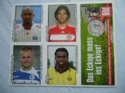 Fußball-Bundesliga-Sticker auch zu verschicken