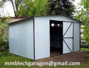 Garagen Garage Blechgarage