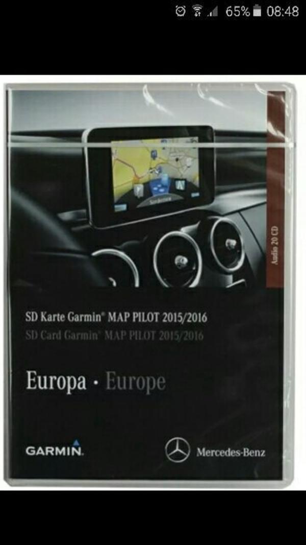 Garmin map Pilot Mercedes C Klasse W205 - Waiblingen Kernstadt-süd - Garmin map Pilot Mercedes C Klasse W205 noch nicht benutzt. Passt für C Klasse W205 und V klasse. - Waiblingen Kernstadt-süd