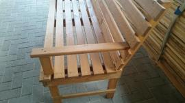 Bild 4 - Gartenbank aus Holz Massiv Unikat - Bretten