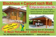 Gartenhaus nach Maß Carport nach