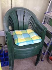 Gartenstühle grün 6