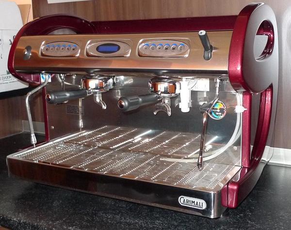 gastro kaffeemaschine carimali e9 2 in f rth gastronomie. Black Bedroom Furniture Sets. Home Design Ideas