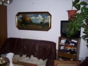 Gemälde Kunstdruck hinter Glas