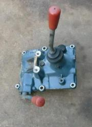 Getriebedeckel mit Schaltgabel