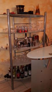 Glas Sideboard Bar Mit Regal Und Barhocker Kleinanzeigen Aus Balingen