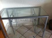 Glasschreibtisch/Computertisch