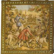 Gobelin Jagd-Bildteppich