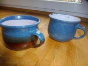 große Kaffeetassen Milchtassen Cappuccinotassen Teetassen