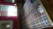 Große schlafzimmerbett gegen