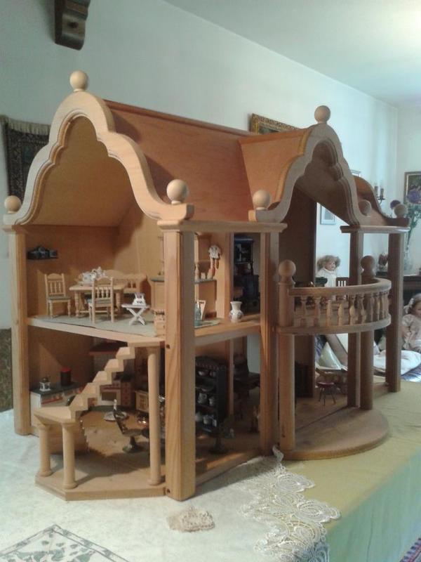 puppenhaus mit m bel ankauf und verkauf anzeigen billiger preis. Black Bedroom Furniture Sets. Home Design Ideas