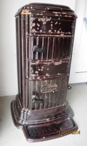 gussofen hnlich kanonenofen f r gartenlaube werkstatt garage in landau fen heizung. Black Bedroom Furniture Sets. Home Design Ideas