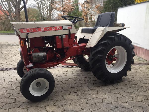 gutbrod 1032 traktor schlepper hofschlepper rasenm her in. Black Bedroom Furniture Sets. Home Design Ideas