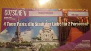 Gutschein nach Paris