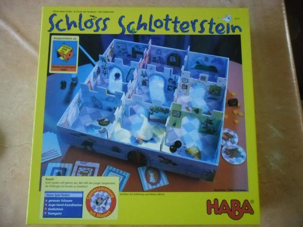 Haba, Kinderspiel, Schloss Schlotterstein