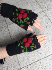 Handschuhe handgestrickt