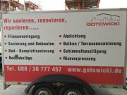 Handwerker - Sanierung - Bausanierung - Renovierung - Balkonsanierung