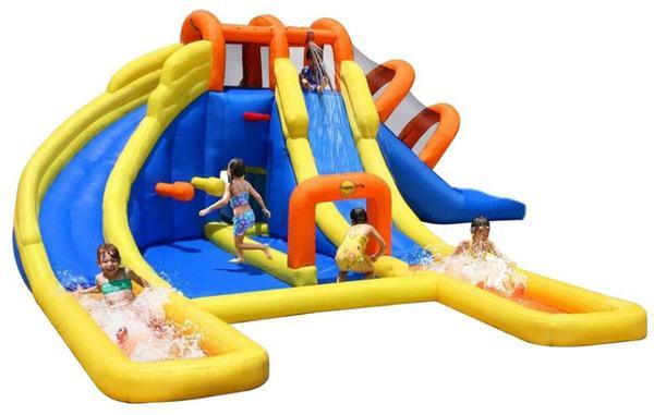 happyhop wasserpark mini wasserrutsche h pfburg mieten in pr tzel sonstiges kinderspielzeug. Black Bedroom Furniture Sets. Home Design Ideas