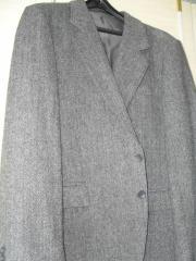Herren Sakko grau Größe 26