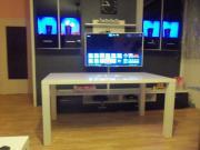 Hochglanz Weiß Tisch