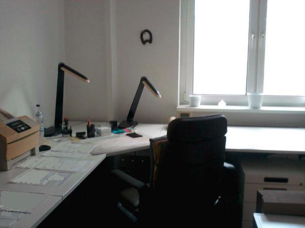 Hochwertige Büromöbel/-ausstattung \'GUMPO\' mit 2 Arbeitsplätzen in ...