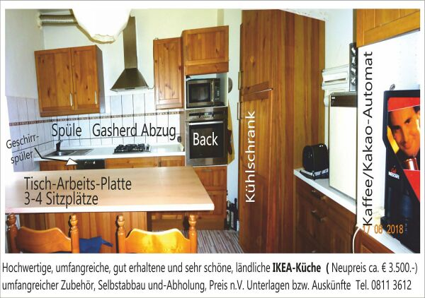 Küchenzeilen ikea  Hochwertige Ikea-Einbauküche mit Extras in München - Küchenzeilen ...