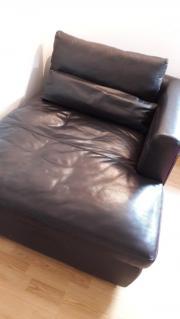 Hochwertige Leder Couch