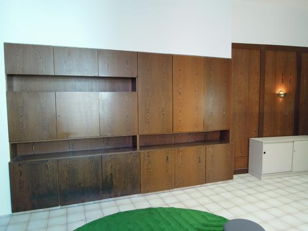 Hochwertiger Büroschrank Schrankwand Wenge 60er/70er Jahre sideboard ...