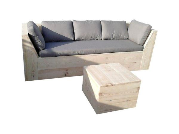 holzsofa bank sofa aus bauholz terrassenm bel gartenm bel in berlin kaufen und verkaufen. Black Bedroom Furniture Sets. Home Design Ideas