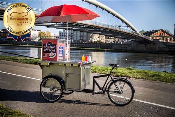 hot dog fahrrad hot dog bike in krak w gastronomie ladeneinrichtung kaufen und verkaufen. Black Bedroom Furniture Sets. Home Design Ideas