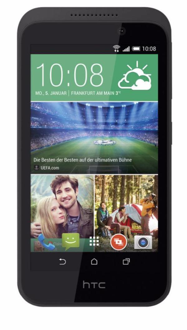 """HTC Desire 320 - 4, 5"""", QuadCore, 8GB, 5MP, Android mit Garantie - Carlsberg - HTC Desire 320 - 4,5 Zoll Display - 5 MP Kamera - 8 GB Speicher - QuadCore CPU - Android 4.4 - Farbe Grau - B-Ware 12 Monte Gewährleisung. Zustand technisch und optisch einwandfrei. Sie können das Handy bei uns im Laden besichtigen. Sie erre - Carlsberg"""