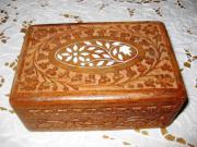 hübsche kleine Holzdose