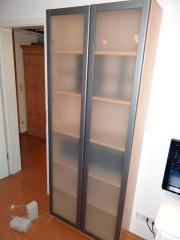 billy vitrine glast ren oben in ludwigsburg ikea m bel. Black Bedroom Furniture Sets. Home Design Ideas