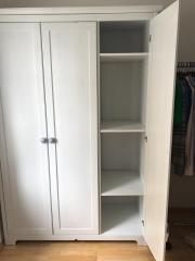Ikea schrank aspelund  Ikea Kleiderschrank Aspelund 3 Türen Spiegeltür taube Holz in ...